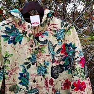 NWT Amasoo button up hoodie sweater fleece jacket